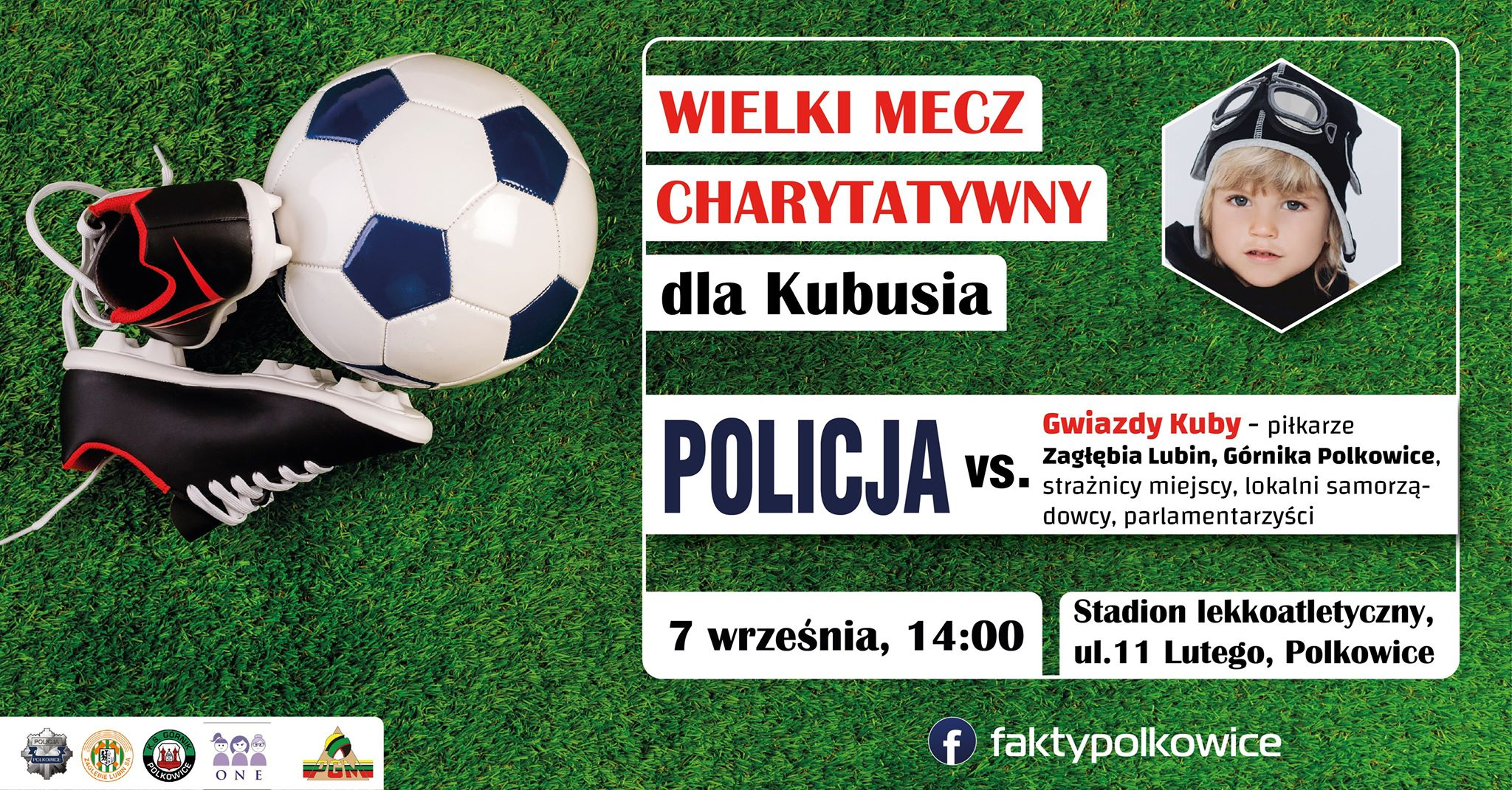 .ielki Mecz Charytatywny dla Kubusia 09.2019